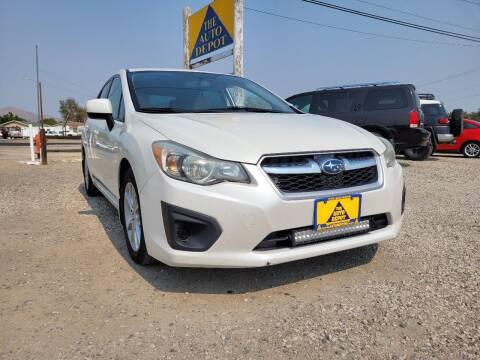 2014 Subaru Impreza for sale at Auto Depot in Carson City NV