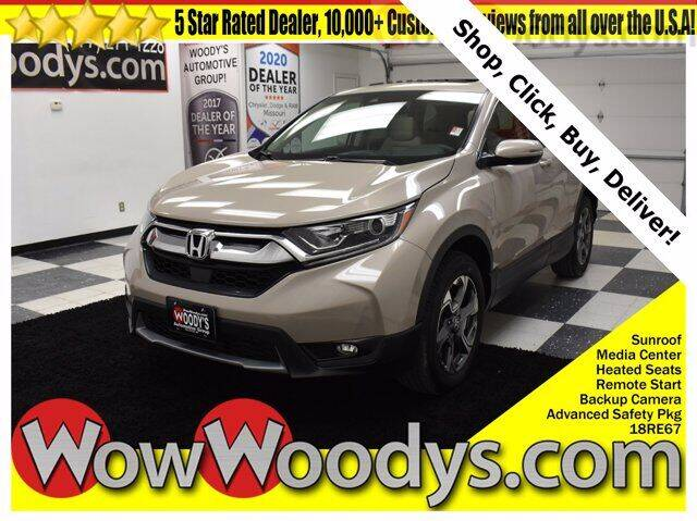 2018 Honda CR-V for sale at WOODY'S AUTOMOTIVE GROUP in Chillicothe MO