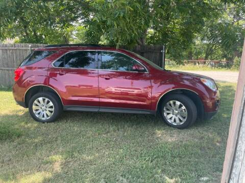 2011 Chevrolet Equinox for sale at BJR AUTO SALES in Wylie TX