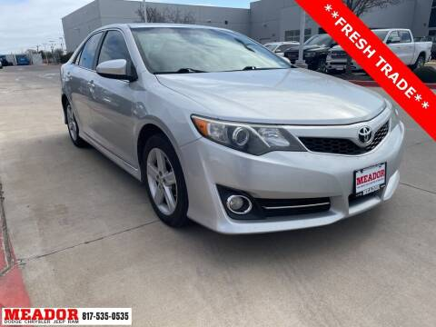 2013 Toyota Camry for sale at Meador Dodge Chrysler Jeep RAM in Fort Worth TX