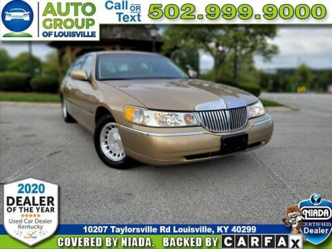 1998 Lincoln Town Car for sale at Auto Group of Louisville in Louisville KY