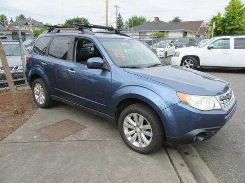 2011 Subaru Forester for sale at Car Link Auto Sales LLC in Marysville WA