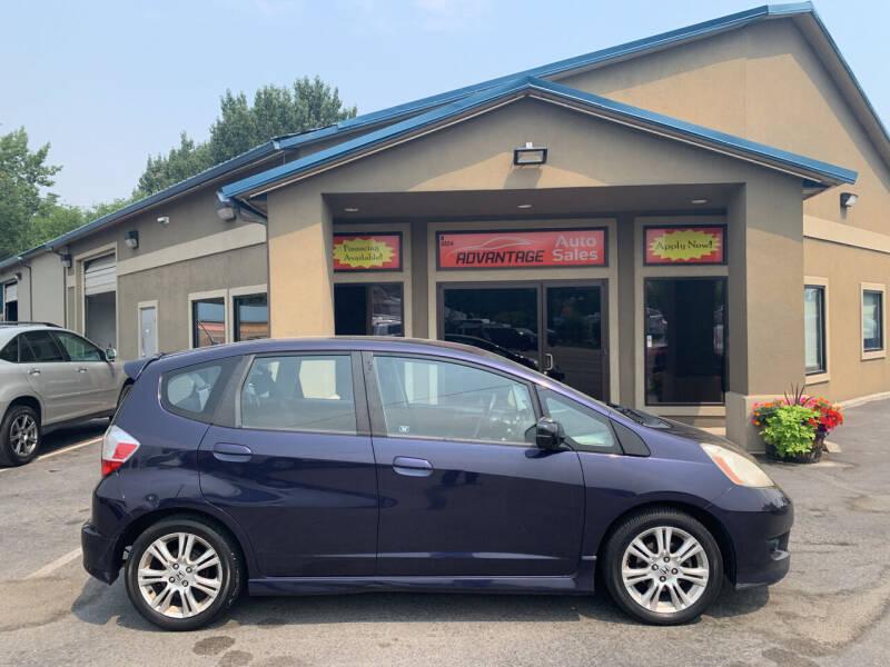 2009 Honda Fit for sale at Advantage Auto Sales in Garden City ID