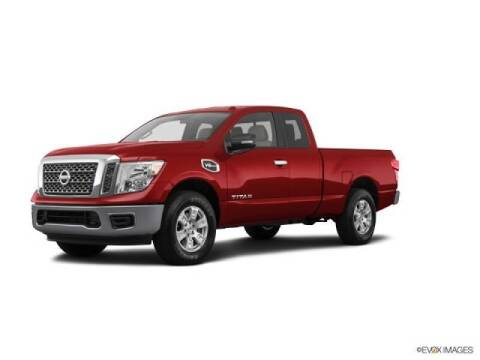 2017 Nissan Titan for sale at FREDYS CARS FOR LESS in Houston TX
