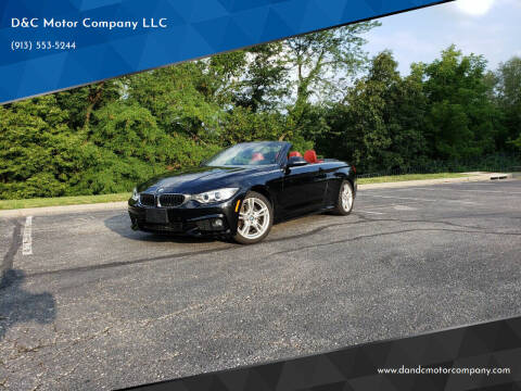 2015 BMW 4 Series for sale at D&C Motor Company LLC in Merriam KS