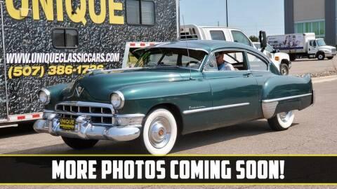 1949 Cadillac Series 61 for sale at UNIQUE SPECIALTY & CLASSICS in Mankato MN