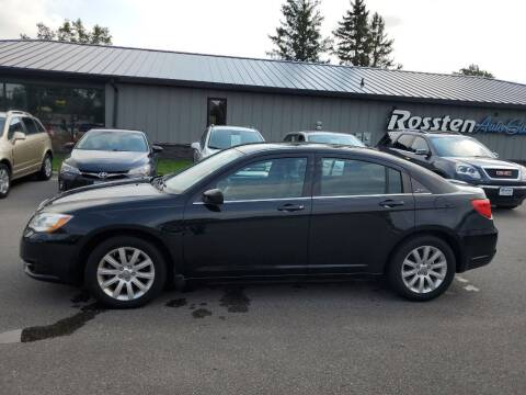 2013 Chrysler 200 for sale at ROSSTEN AUTO SALES in Grand Forks ND