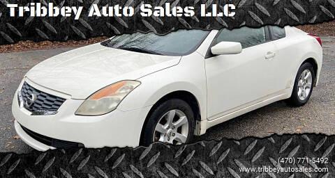 2008 Nissan Altima for sale at Tribbey Auto Sales in Stockbridge GA