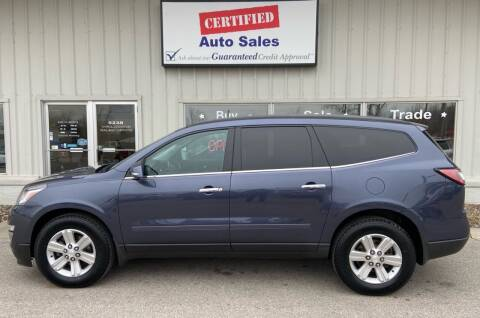 2014 Chevrolet Traverse for sale at Certified Auto Sales in Des Moines IA