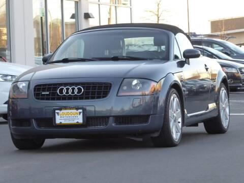 2003 Audi TT for sale at Loudoun Motor Cars in Chantilly VA