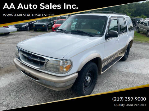1998 Ford Explorer for sale at AA Auto Sales Inc. in Gary IN