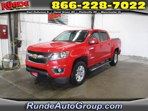 2019 Chevrolet Colorado for sale at Runde PreDriven in Hazel Green WI