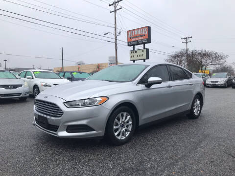 2016 Ford Fusion for sale at Autohaus of Greensboro in Greensboro NC