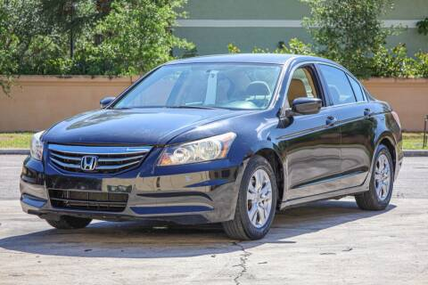2012 Honda Accord for sale at Easy Deal Auto Brokers in Hollywood FL