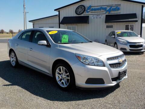 2013 Chevrolet Malibu for sale at Country Auto in Huntsville OH