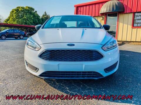2016 Ford Focus for sale at MAGNA CUM LAUDE AUTO COMPANY in Lubbock TX