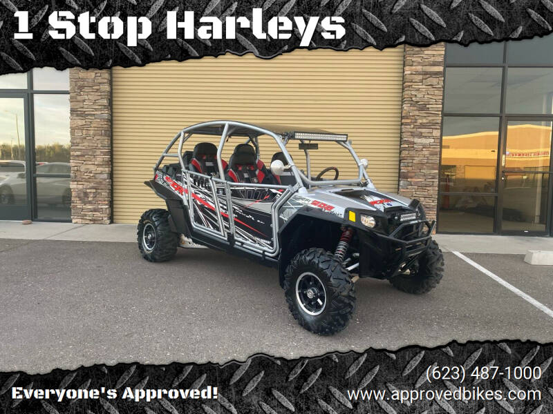 2012 Polaris RZR900XP4LE for sale at 1 Stop Harleys in Peoria AZ