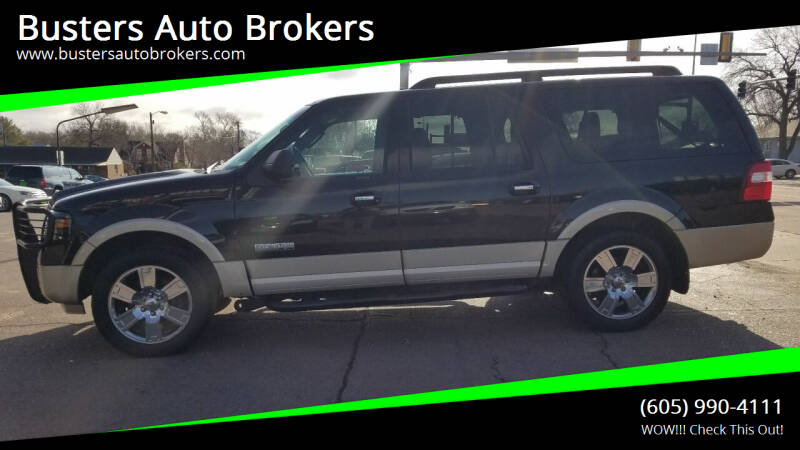 2007 Ford Expedition EL for sale at Busters Auto Brokers in Mitchell SD
