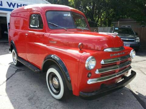 1947 Dodge PANEL VAN for sale at GREAT DEALS ON WHEELS in Michigan City IN