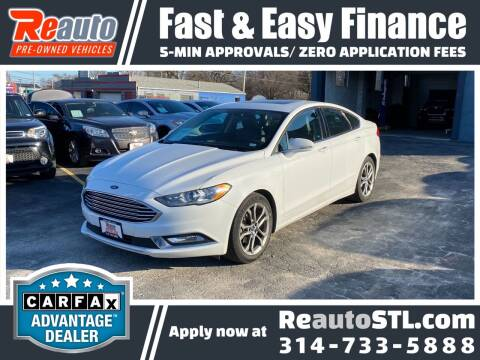 2017 Ford Fusion for sale at Reauto in Saint Louis MO