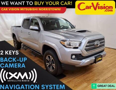 2017 Toyota Tacoma for sale at Car Vision Mitsubishi Norristown in Trooper PA
