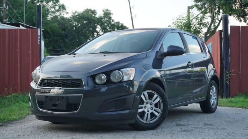 2014 Chevrolet Sonic for sale at Hidalgo Motors Co in Houston TX