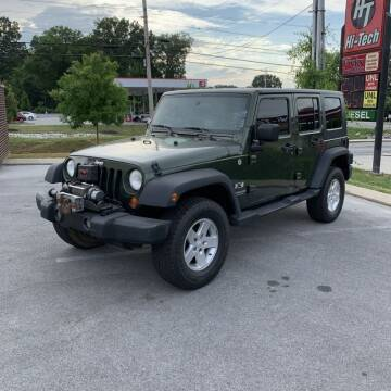 2008 Jeep Wrangler Unlimited for sale at Z Motors in Chattanooga TN