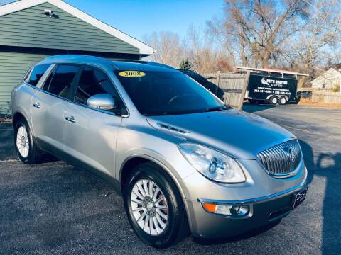 2008 Buick Enclave for sale at SHEFFIELD MOTORS INC in Kenosha WI