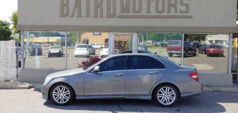2009 Mercedes-Benz C-Class for sale at BAIRD MOTORS in Clearfield UT