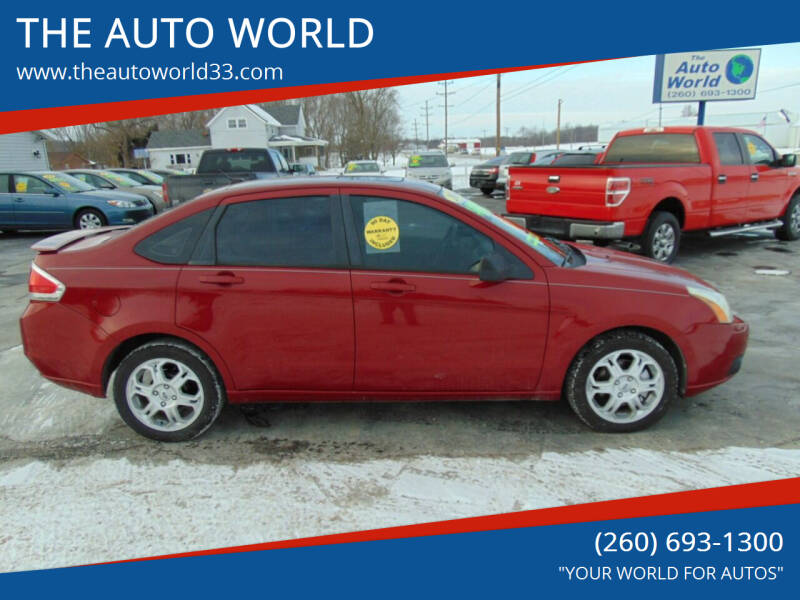 2009 Ford Focus for sale at THE AUTO WORLD in Churubusco IN