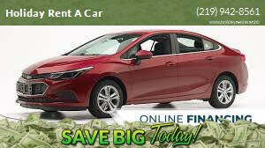 2019 Chevrolet Cruze for sale at Holiday Rent A Car in Hobart IN