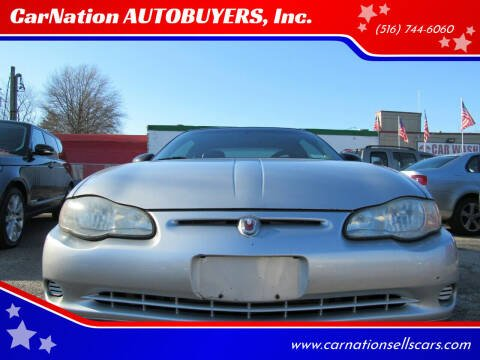 2000 Chevrolet Monte Carlo for sale at CarNation AUTOBUYERS Inc. in Rockville Centre NY