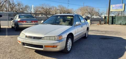1996 Honda Accord for sale at One Community Auto LLC in Albuquerque NM