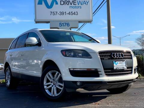2008 Audi Q7 for sale at Driveway Motors in Virginia Beach VA