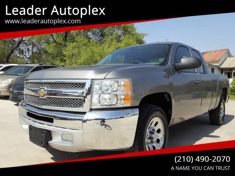 2012 Chevrolet Silverado 1500 for sale at Leader Autoplex in San Antonio TX