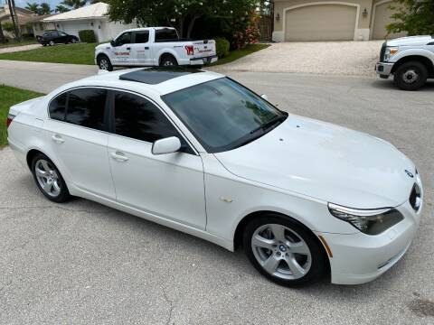 2008 BMW 5 Series for sale at Exceed Auto Brokers in Lighthouse Point FL