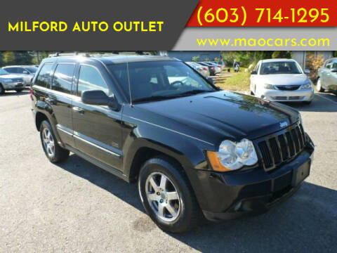 2008 Jeep Grand Cherokee for sale at Milford Auto Outlet in Milford NH