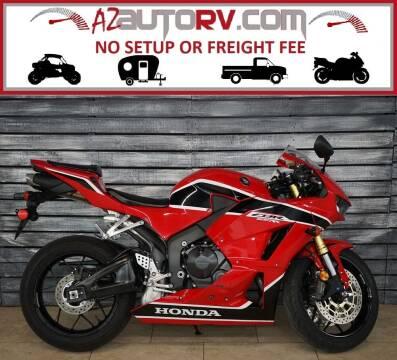 2018 Honda CBR600RR for sale at AZMotomania.com in Mesa AZ