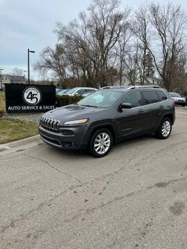 2015 Jeep Cherokee for sale at Station 45 Auto Sales Inc in Allendale MI