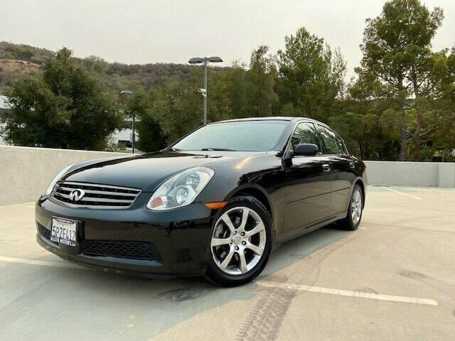 2005 Infiniti G35 for sale at Allen Motors, Inc. in Thousand Oaks CA
