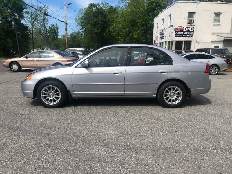 2003 Honda Civic for sale at DND AUTO GROUP in Belvidere NJ