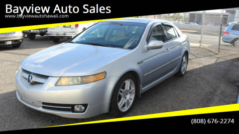 2008 Acura TL for sale at Bayview Auto Sales in Waipahu HI