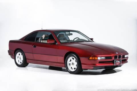 1991 BMW 8 Series for sale at Motorcar Classics in Farmingdale NY