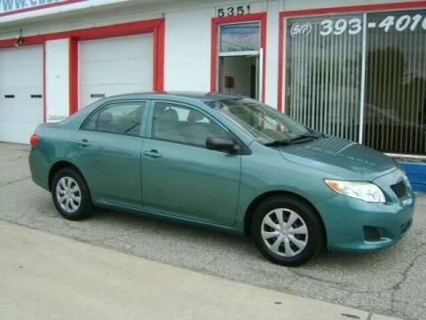 2009 Toyota Corolla for sale at Cedar Auto Sales in Lansing MI
