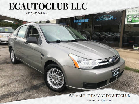 2008 Ford Focus for sale at ECAUTOCLUB LLC in Kent OH