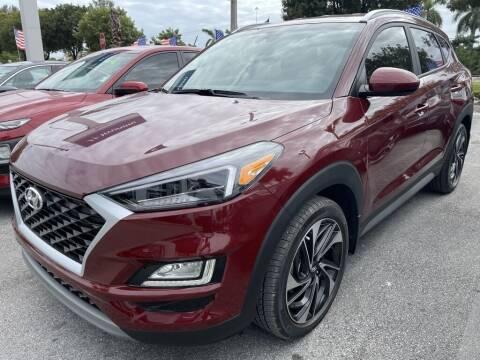2020 Hyundai Tucson for sale at DORAL HYUNDAI in Doral FL