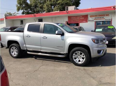 2017 Chevrolet Colorado for sale at Dealers Choice Inc in Farmersville CA