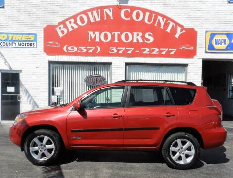 2006 Toyota RAV4 for sale at Brown County Motors in Russellville OH