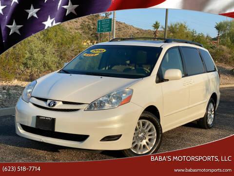 2010 Toyota Sienna for sale at Baba's Motorsports, LLC in Phoenix AZ