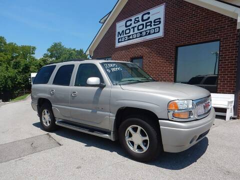 2005 GMC Yukon for sale at C & C MOTORS in Chattanooga TN